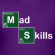 Breaking Bad Mad Skills Diecut Decal