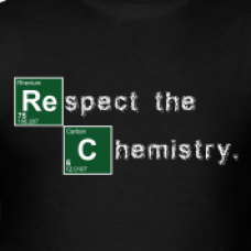 Breaking Bad Respect The Chemistry Diecut Decal
