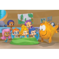 Bubble Guppies Nick Toons Decal 1
