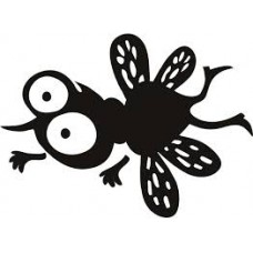 Bug Splat Funny Die Cut Decal