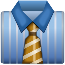 Business_Shirt_With_Tie_Emoji