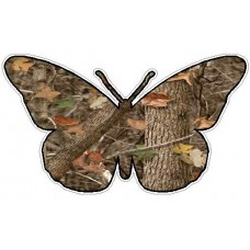 Butterfly Camo Sticker 1 - NATURE
