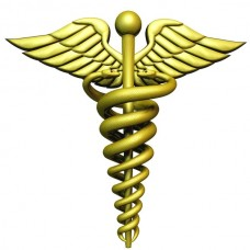 caduceus Medical Color Sticker