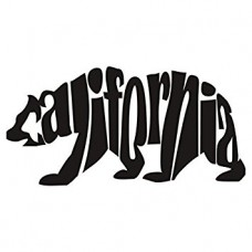 CALIFORNIA BEAR DIE CUT DECAL