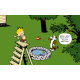 Calvin and Hobbes Rectangular Color Stickers 02