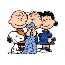charlie and friends peanuts sticker 88