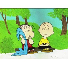 Charlie Brown and Linus Color Decal