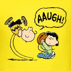 Charlie Brown and Lucy Football