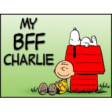 Charlie Brown and Snoopy Color Decal 3