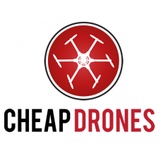 Cheap Drones logo decal
