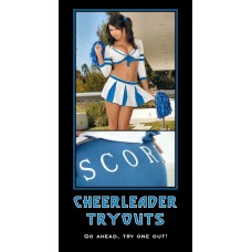 cheerleader tryouts win one for the gipper