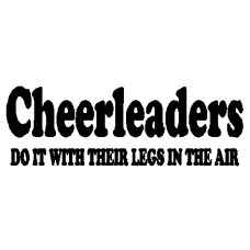 Cheerleaders Decal 29