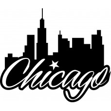 Chicago Diecut Decal