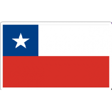 Chile Flag Decal