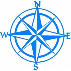 Compass Boating Decal