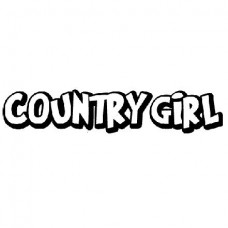 Country Girl Decal 28