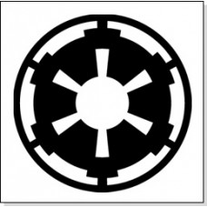Dark Side Imperial Symbol