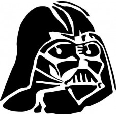 Darth Vader Diecut Decal 4