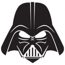 darth vader mask decal