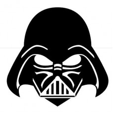 darth Vader Mask star wars Sticker 5