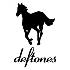 deftones band vinyl decal sticker with horse