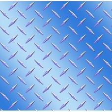 Diamond Plate Blue Light Vinyl Sheet