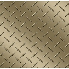 Diamond Plate Gold Vinyl Sheet