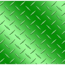 Diamond Plate Green Vinyl Sheet