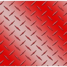 Diamond Plate Red Vinyl Sheet