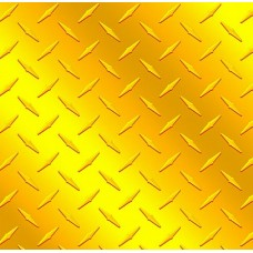 Diamond Plate Yellow Vinyl Sheet