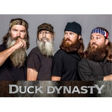 Duck Dynasty Color Car Sticker 2