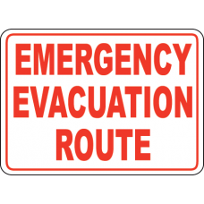Emergency Signs and Decals 06