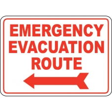 Emergency Signs and Decals 08
