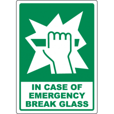 Emergency Signs and Decals 12