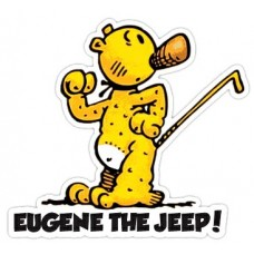 Eugene the Jeep Color Decal