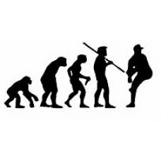 Evolution Sport Stickers BASEBALL PITCHER