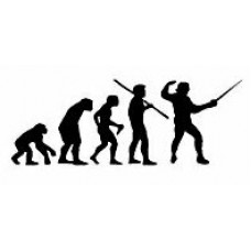 Evolution Sport Stickers FENCING