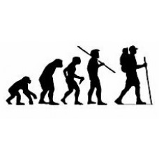 Evolution Sport Stickers HIKING