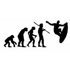 Evolution Sport Stickers SURFER
