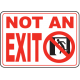Exit Entrance Signs and Banners 19