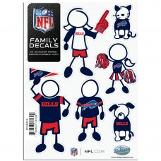Bills Stick Family Decal Pack