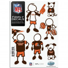Browns Stick Family Decal Pack