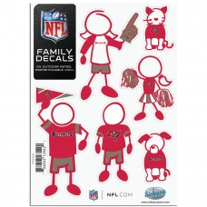 Buccaneers Stick Family Decal Pack