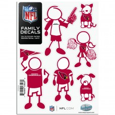 Cardinals Stick Family Decal Pack