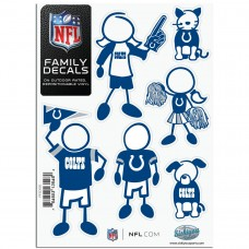Colts Stick Family Decal Pack