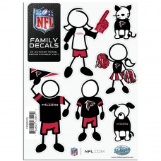 Falcons Stick Family Decal Pack