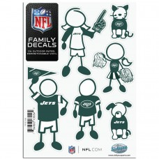 NY Jets Stick Family Decal Pack