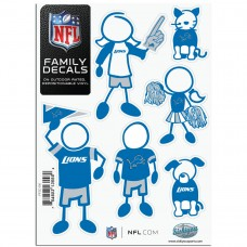 Lions Stick Family Decal Pack