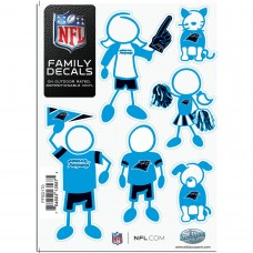 Panthers Stick Family Decal Pack