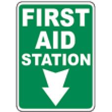 First Aid Safety Signs and Decals 06